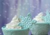 Winter Edible Snowflakes Designed Cupcake Wrappers