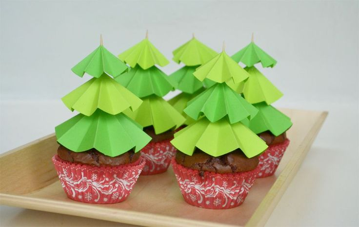 Christmas Tree Cupcake Toppers Cupcakes Gallery