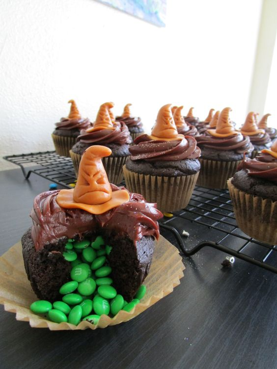30 Magical Harry Potter Cupcakes Cupcakes Gallery