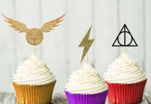 Harry Potter Topper Cupcake Set