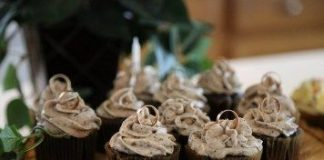 Lord of the Rings Birthday Cupcakes