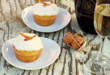 Luscious Champagne Cupcakes