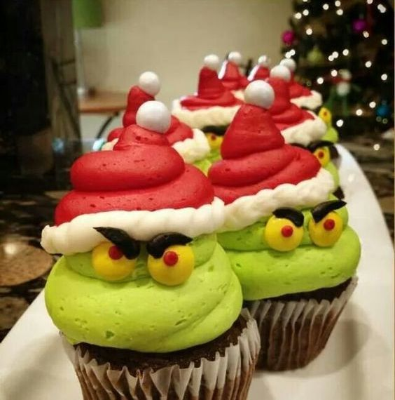 The Grinch Cupcakes Cupcakes Gallery