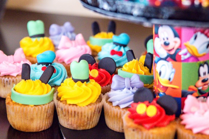 Mickey Party Cupcakes Stunning Mouse