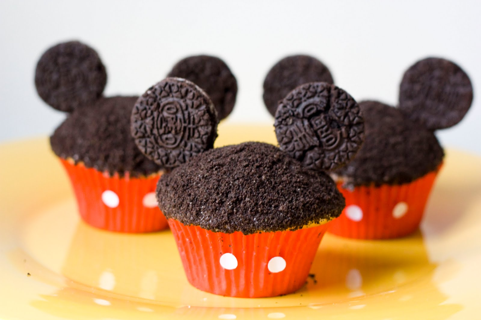 Oreo Mickey Cupcakes Stunning Mouse