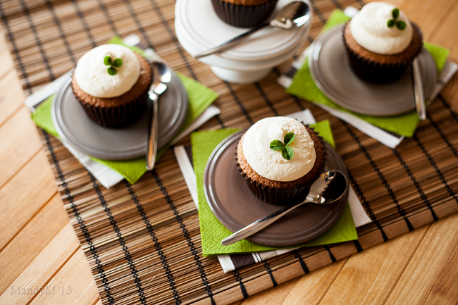 Scrumptious Irish Coffee Cupcakes