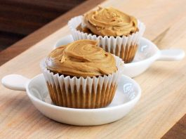 Brown Sugar Cupcakes With Penuche Frosting
