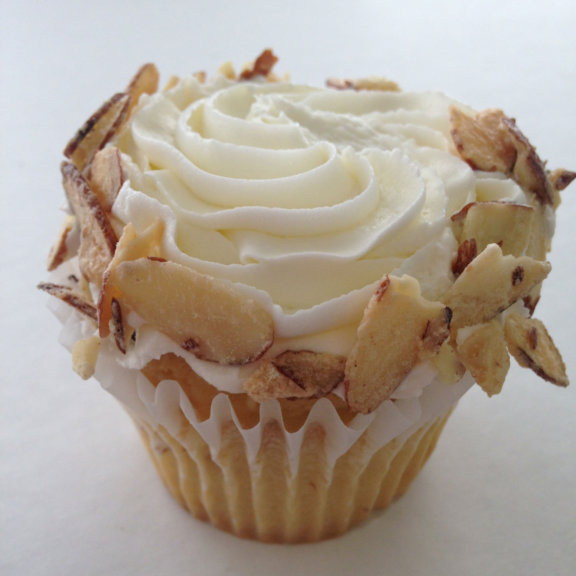 Candied Almond Cupcake