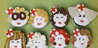 Playful Nurses Cupcakes