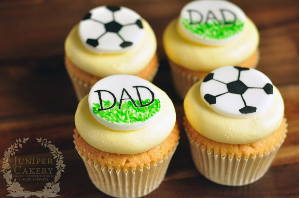 Soccer Dad Cupcakes