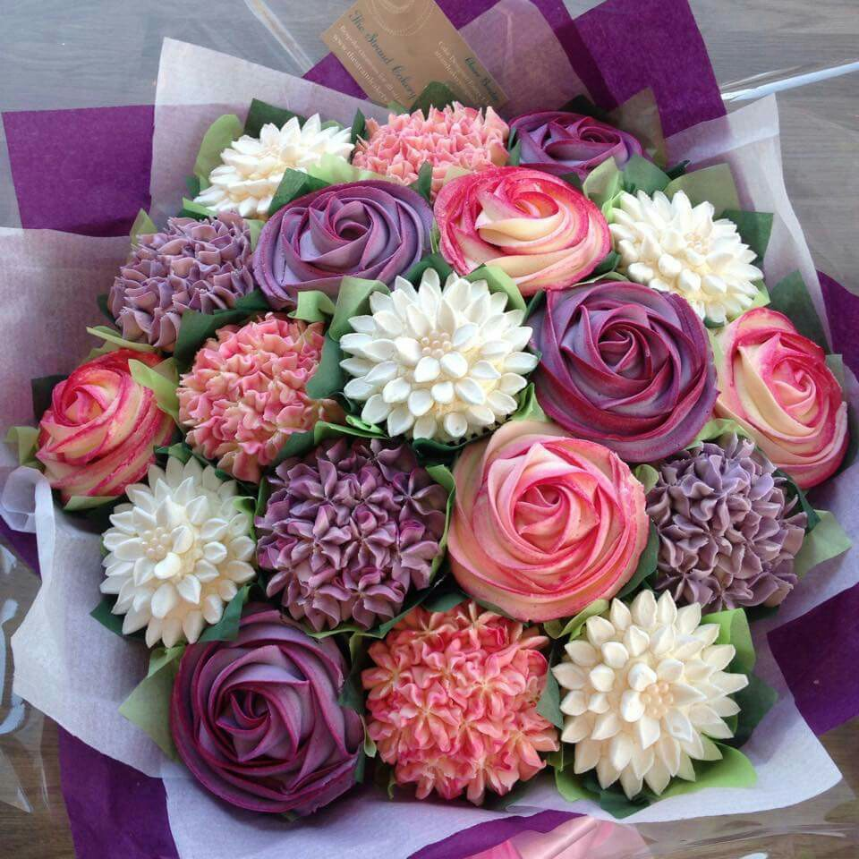 Gorgeous Flower Bouquet Cupcakes Cupcakes Gallery