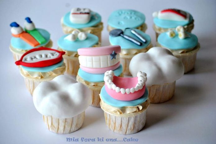 Dentistry Themed Cupcakes