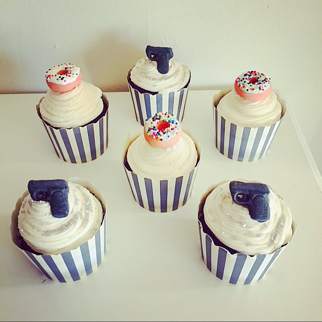 Lolo S Cakes Sweets: 30 Police Themed Cupcakes