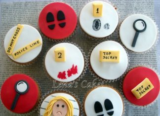 Police Investigation Cupcakes