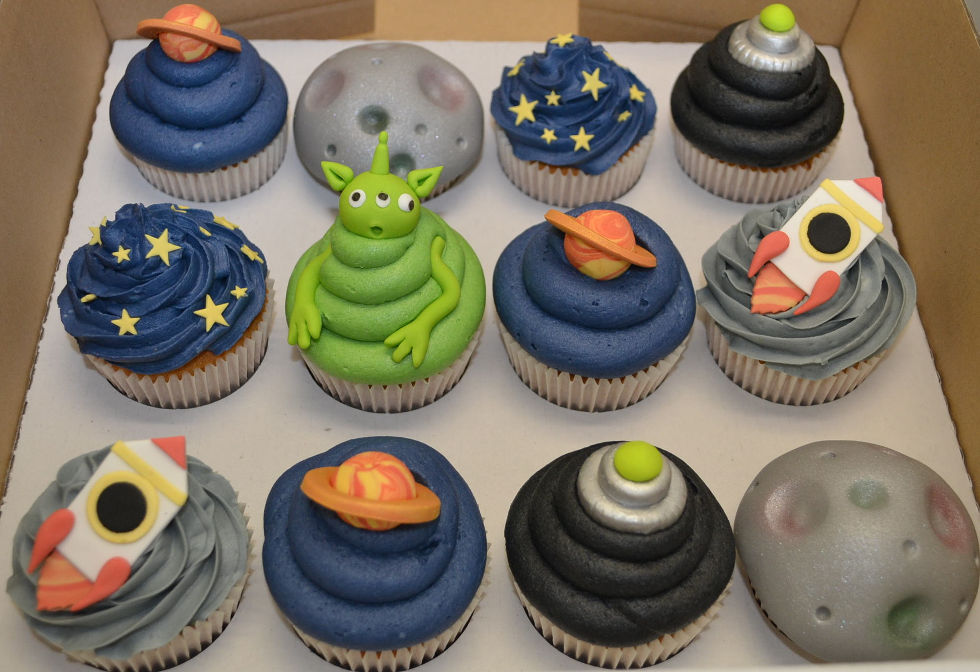 35 Space Themed Cupcakes For Astronomers - Cupcakes Gallery