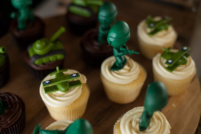 Army Themed Birthday Cupcakes Cupcakes Gallery