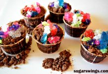 Bucket of Gems Brownie Cupcakes