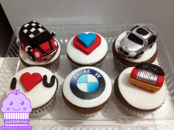 Mini Cooper BMW Cupcakes Cupcakes Gallery