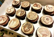 Drawn Anatomy Cupcakes
