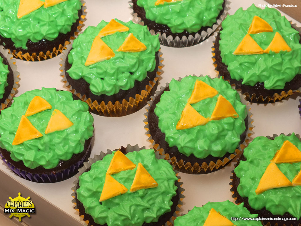 Tetris Video Game Cupcakes