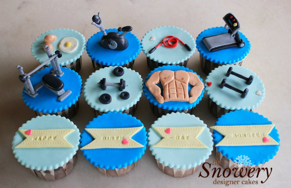 35 Dainty Fitness Trainer Cupcakes Cupcakes Gallery