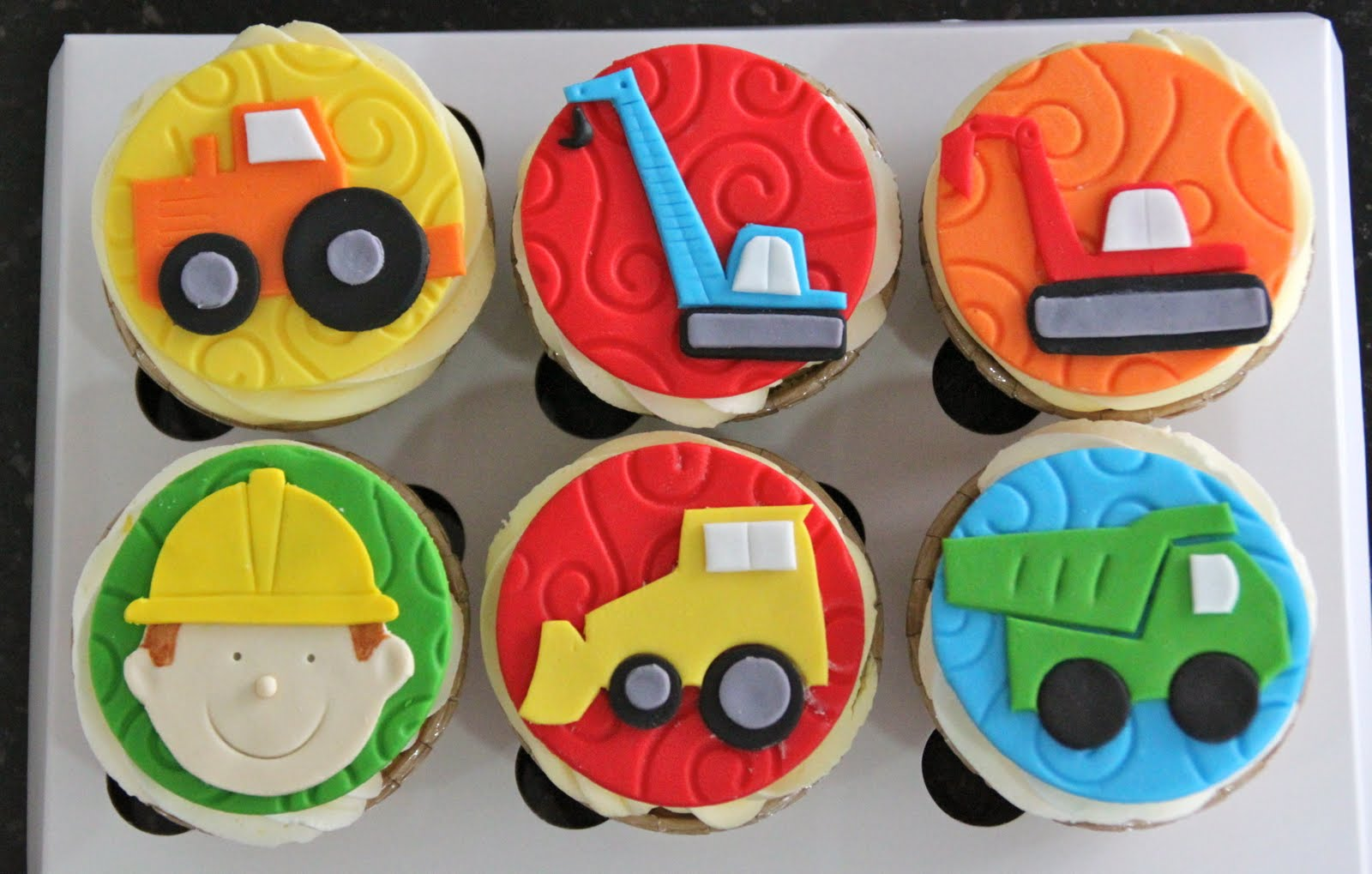 30 Construction Cupcakes For Builders Cupcakes Gallery