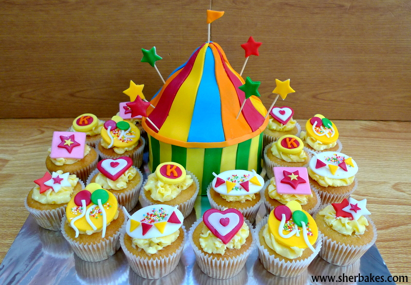 Circus Themed Cupcakes And Cake Cupcakes Gallery
