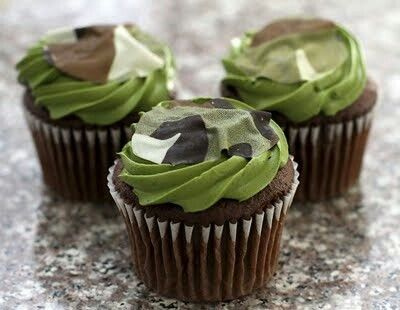 Army Themed Cupcakes Cupcakes Gallery