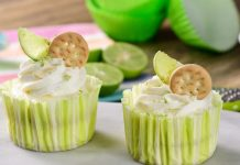 Biscuits And Lime Cupcakes