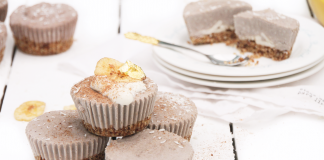 Banana And Cinnamon Cheesecake Cupcakes